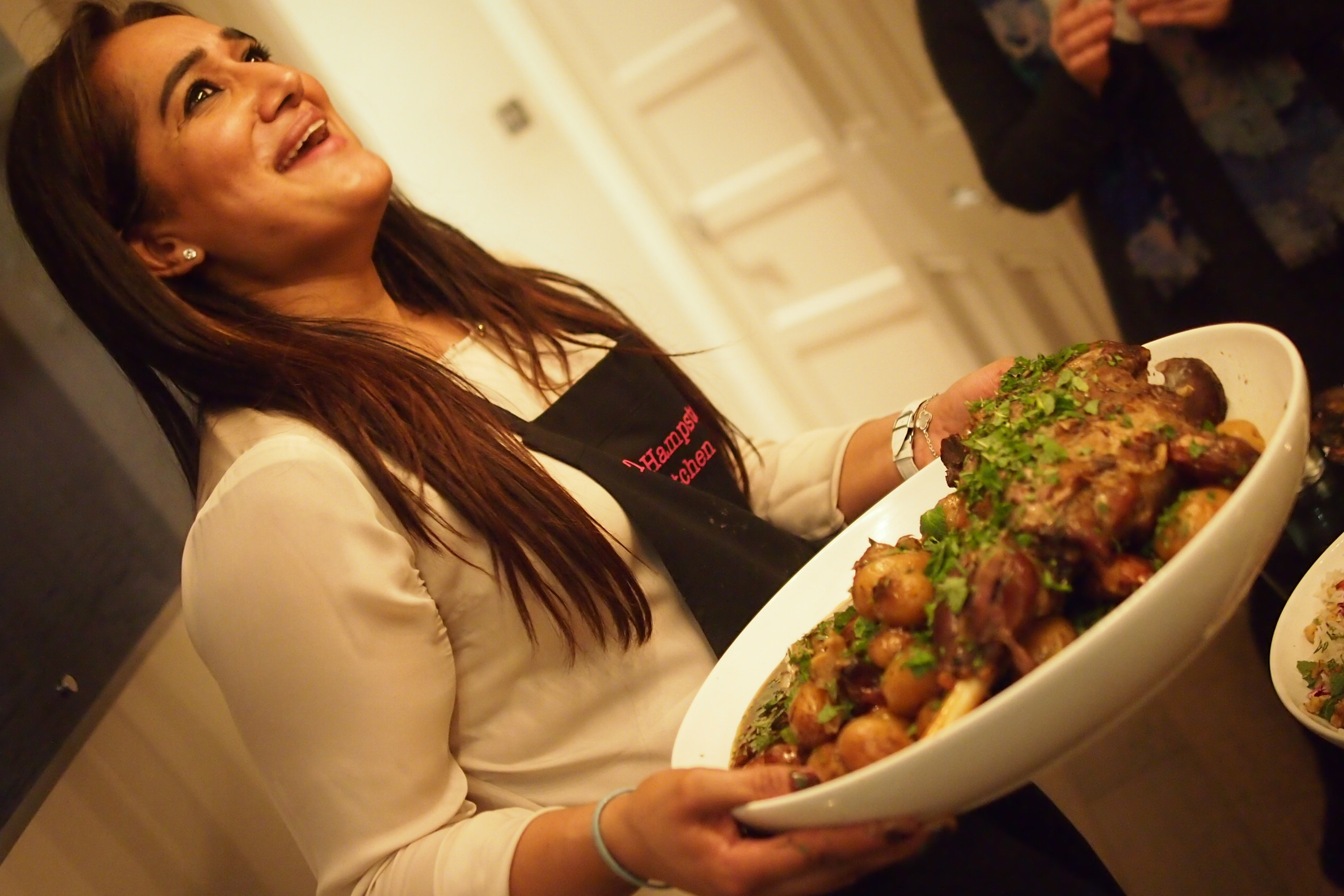 Interview With :    Saima Khan, Chef & Founder of The Hampstead Kitchen