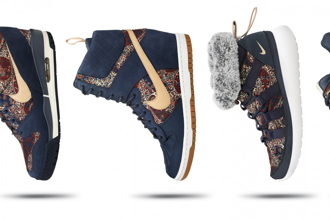 NIKE & LIBERTY COLLABORATE