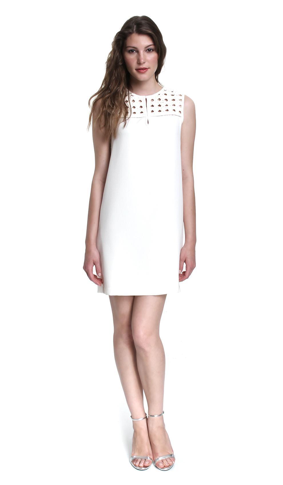 White Shift Dresses