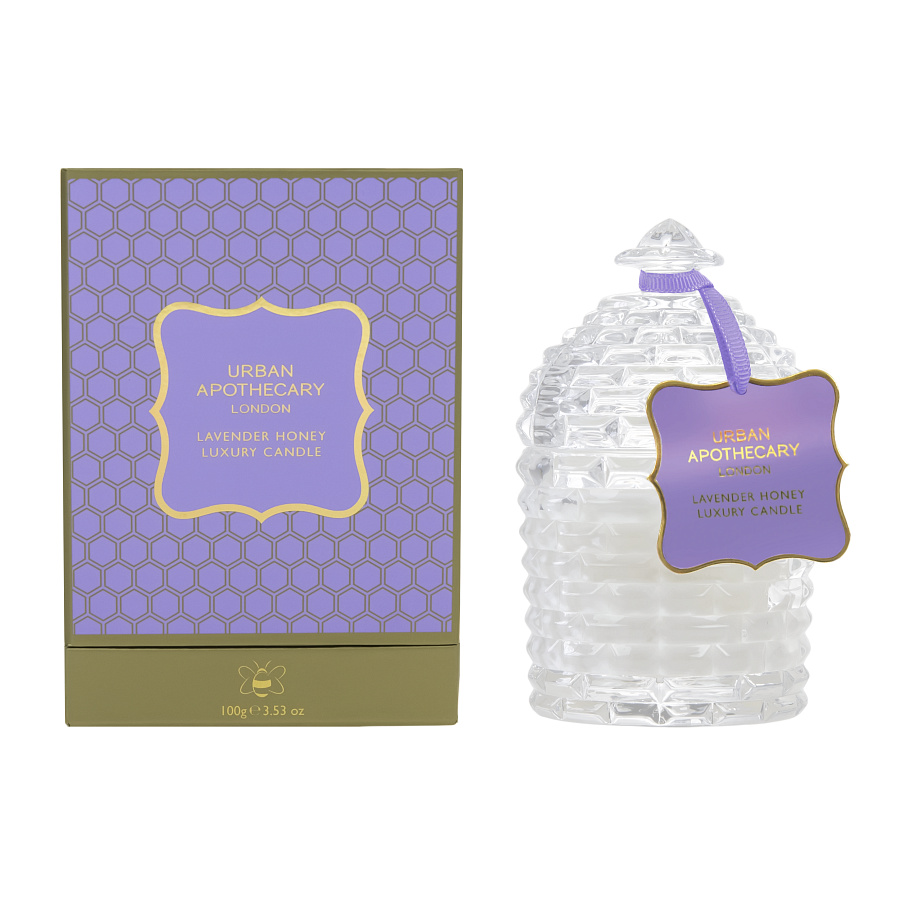 Lavender Honey Candle with Box_UAL