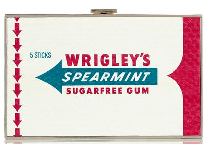 ANYA HINDMARCH Imperial Wrigleys Spearmint Gum