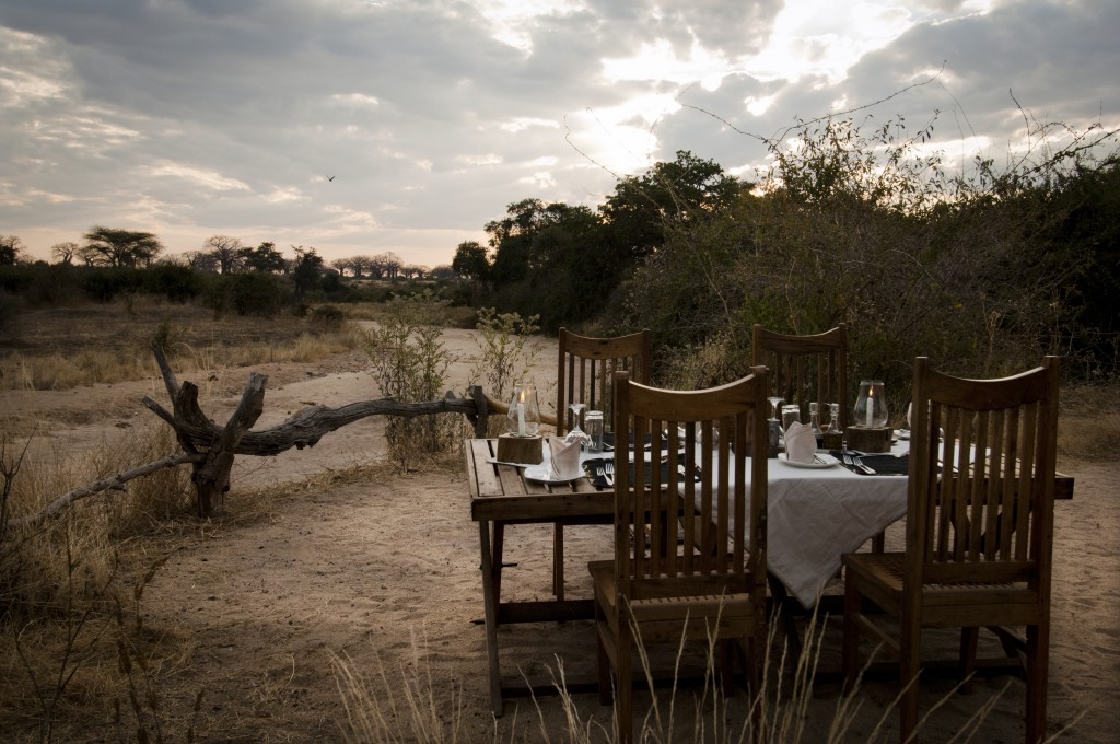 2. Dinner Table - Picturesque View