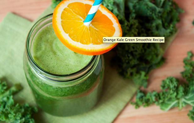 orange kale