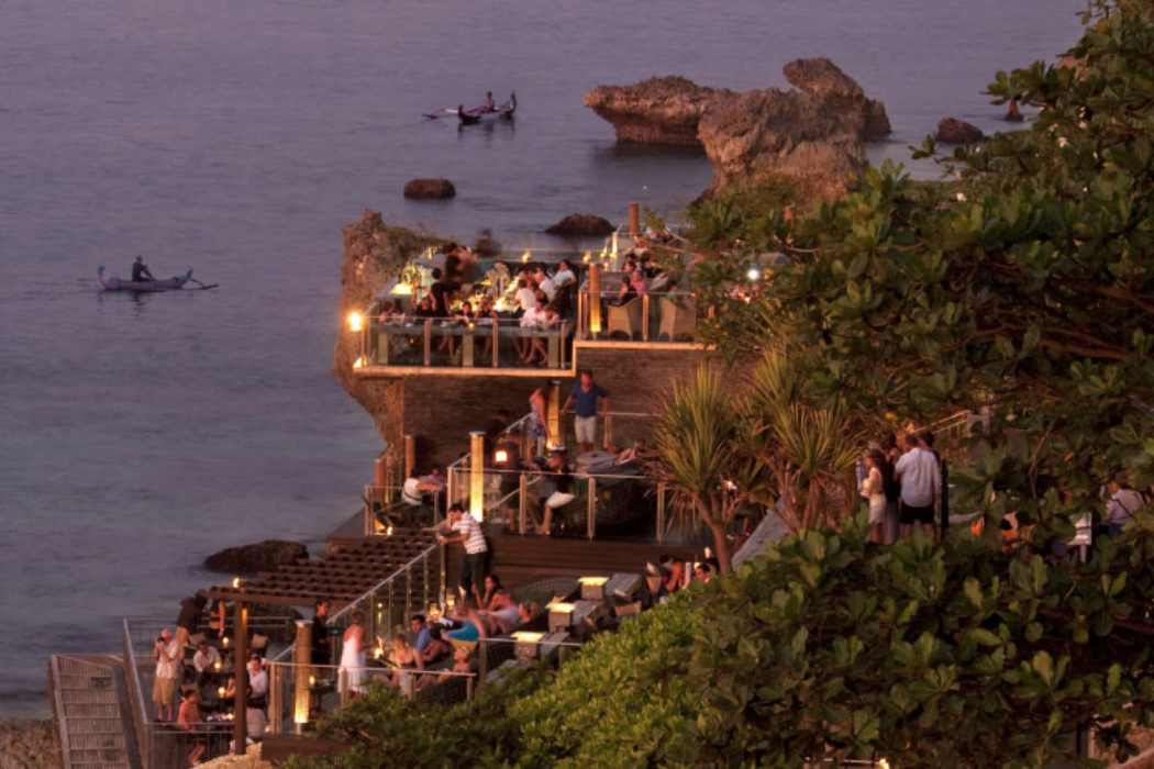 Visitors To Bali Who Ask About Cocktails Will Be Given One Particular Name  U2013 Rock Bar. This Famous Drinking Destination, Part Of The Stunning AYANA  Resort, ...